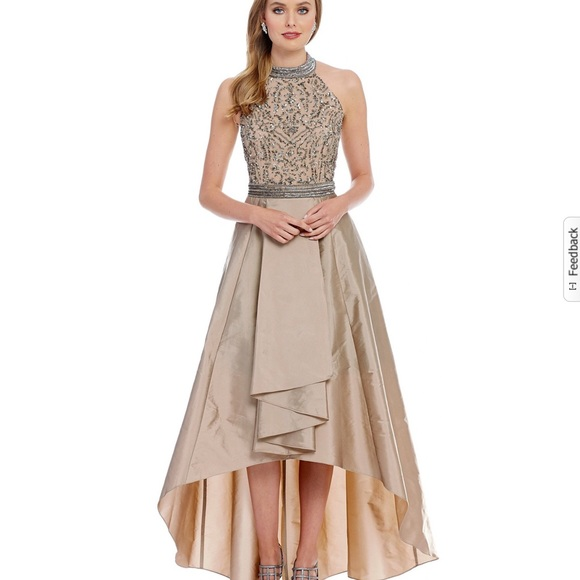 303896e94d Adrianna Papell Dresses   Skirts - Adrianna Papell antique bronze evening  gown
